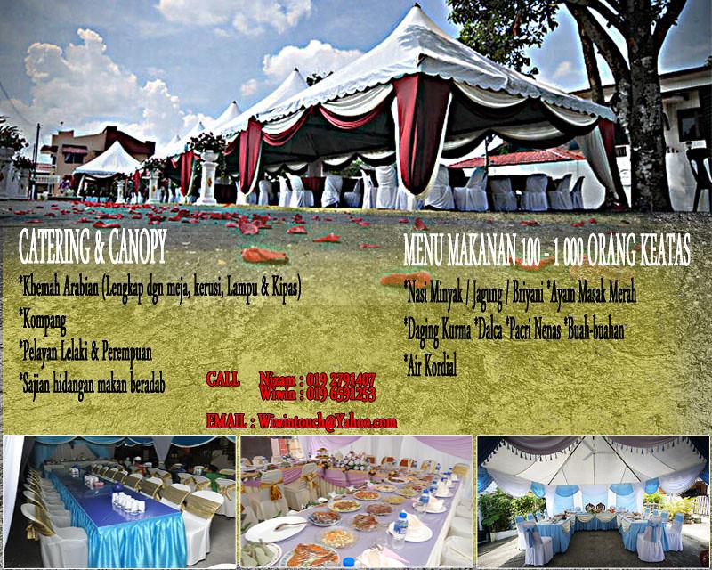 khemah & catering
