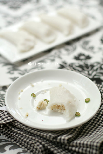 Uppu Kozhokottai ~ Steamed savoury snacks