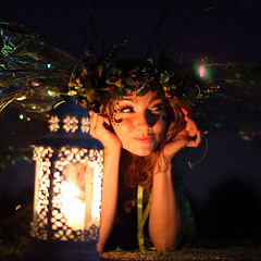 Twig Candle Light Vigil (gbrummett) Tags: digital mark fairy ii 5d faires brummett twigthefairy canonef50mmf12lusmlens cameragrant cutebeautiful2010canon