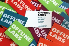 Offline Labs business cards