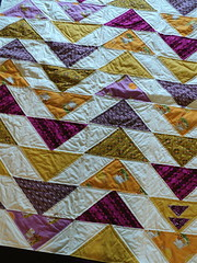 flying gooses (delightful disarray) Tags: quilt blanket flyinggeese modernquilt