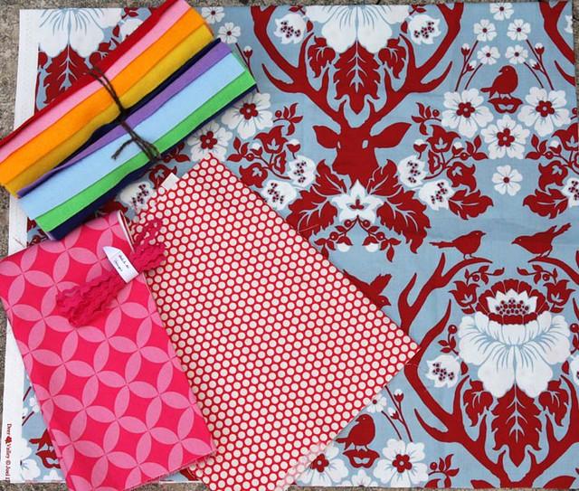 Fabric and felt