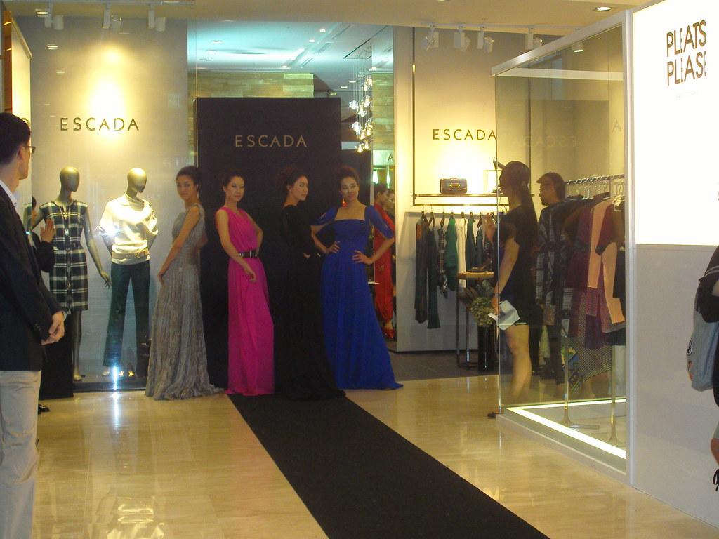 Escada fashion show - Korean models - Shinsegae