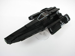 Laura07 (- 2x4 -) Tags: laura lego blackbird bsg stealthfighter
