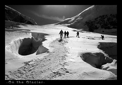 On the Glacier (Bonfab1976) Tags: italia alpinismo alpi 4000 valledaosta panorami granparadiso ghiaciaio