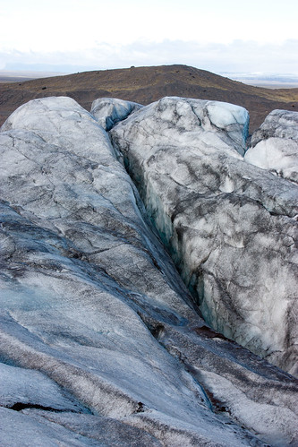 Svínafellsjökull Glacier - we hiked the glacier with crampons strapped to our hiking boots