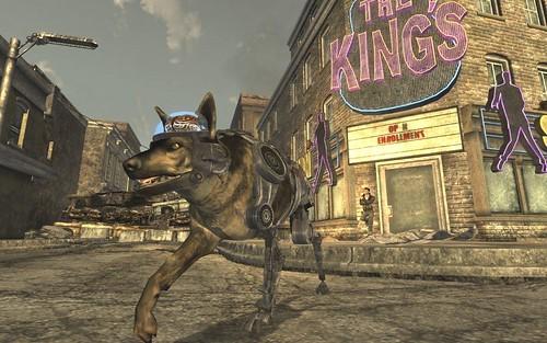 A dog made of metal? Quick, keep Uri Gellar away from it!