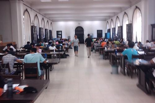 舊圖書館大自習室