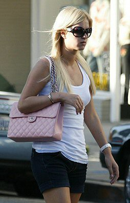 Nicky Hilton-pink-Chanel-bag by AshleyCooper