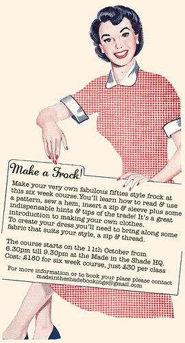 Make A Frock Workshop Series