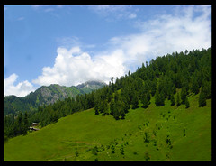 Neelam Valley ..... Taobut (z u b a i r) Tags: pakistan nature landscape peace tranquility serenity kashmir kel 2010 zubair azadkashmir neelumriver neelumvalley neelamriver arangkel concordians neelamvalley taobut landofpeace