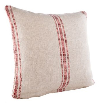 French-Grain-Sack-Square-Classic-Stripe-Pillow-Cover