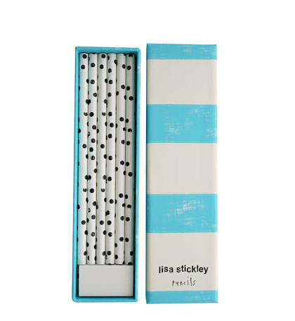 LISA STICKLEY PENCILS