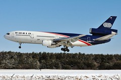 N137WA World Airways (Bob Garrard) Tags: world airways douglas dc10 mcdonnell bwi kbwi n137wa