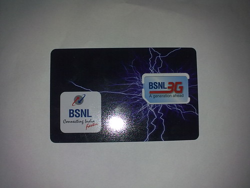 BSNL 3G sim
