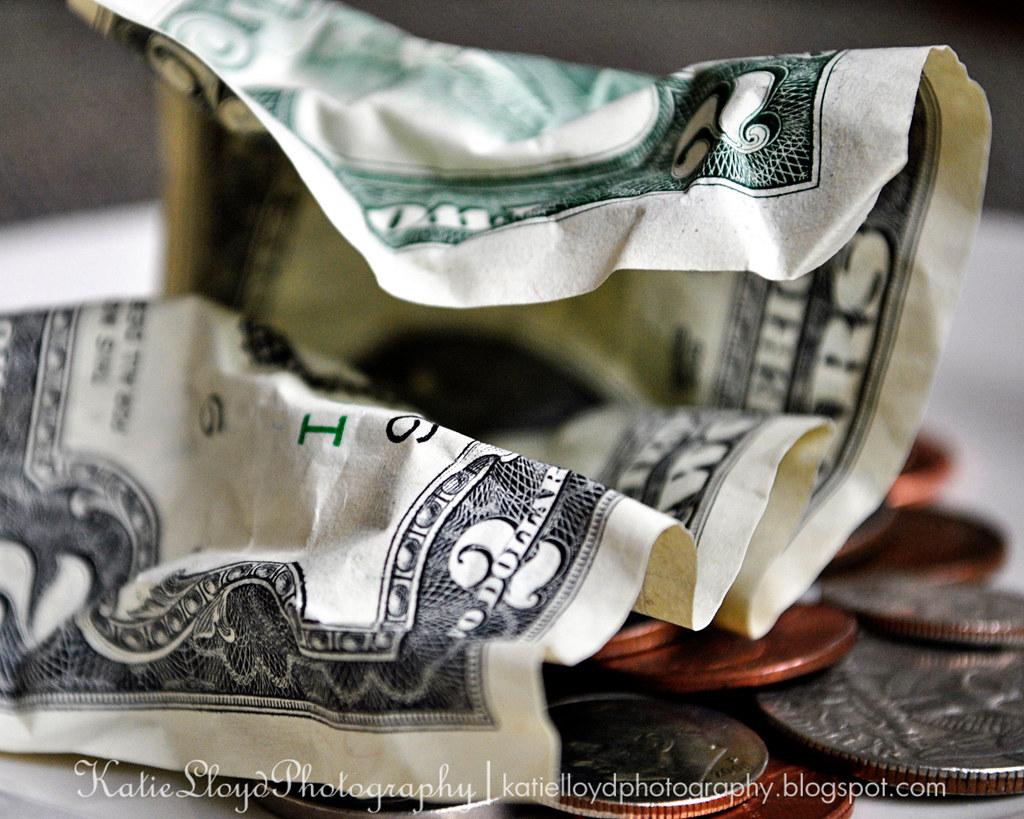 Currency - $2 bill - wm