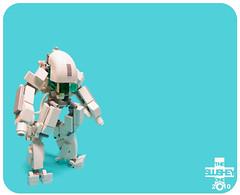 ECTO suit (The Slushey One) Tags: blue white grey robot arms head alien slush suit guns slushy terrestrial extra ectoplasm ecto slushee hardsuit