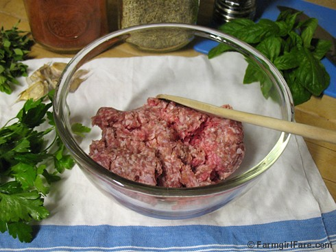 Italian Sausage Ingredients