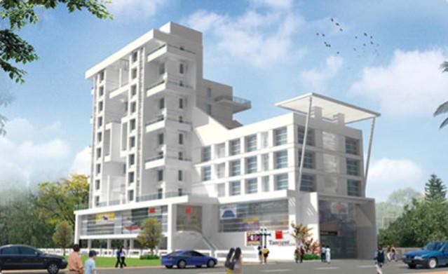 Navjeevan Properties' Blue Bells 2 BHK Flats opposite Pu La Deshpande Udyan on Sinhagad Road Pune