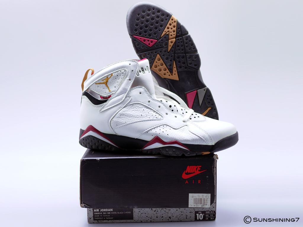 c46cd8585b34 Sunshining7 - Nike Air Jordan VII (7) - OG DS 1992 -Cardinal White