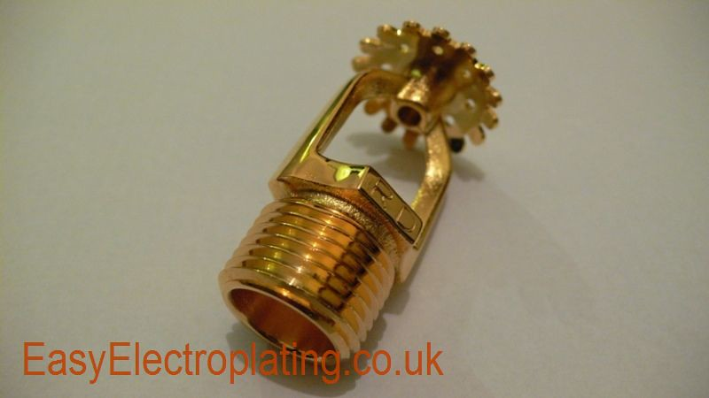 Gold Plated Sprinker 1