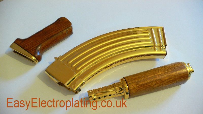 Gold Plated AK47 Parts