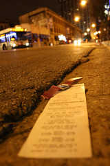 Time To Call It A Weekend (Flint Foto Factory) Tags: street city autumn urban chicago bus fall bar night cta nocturnal watch broadway gritty september receipt drugstore lakeview walgreens halsted wrigleyville 2010 charlies boystown northalsted