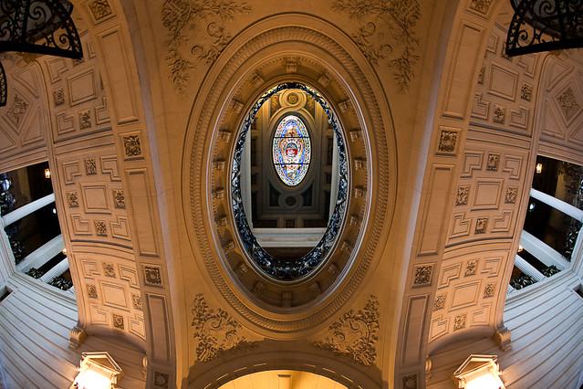La Sorbonne - Péristyle