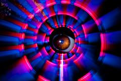 Tunnel Vision (TxPilot) Tags: longexposure light lightpainting macro eye art night painting photography lights graffiti nikon long exposure paint tunnel led lap vision lighttrails movinglights lightgraffiti tunnelvision lightpaint lightemittingdiode d700 lightgraf lightartphotography