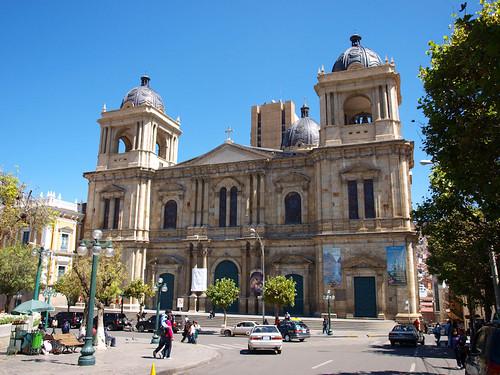 Plaza Pedro D Murillo, Catedral