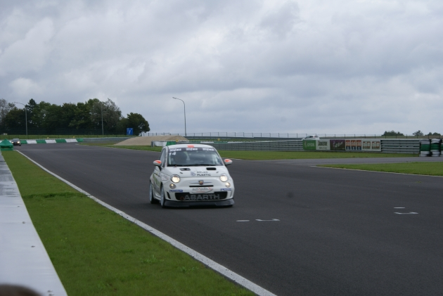 Abarth 500(C) & Punto Evo testday at circuit Mettet