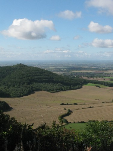 Picturesque view from Sutton Bank N.Yorks