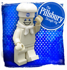 The Pillsbury Dough Fig (Morgan190) Tags: boy baking lego dough minifig custom pillsbury m19 minifigure doughboy morgan19