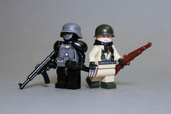 A wild Veil Heavy Trooper appears! (Exxtrooper) Tags: red brick guy 30 america magazine soldier grey cool sticker pretty gun arms lego m1 nazi rifle super assault suit made german american round labels decal forge custom bullets omg stg wut decals based zomg carbine wolfenstein garand eues gewehr sturmgewehr exx brickarms brickforge gewerh exxtrooper americun