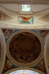 Cpula (Esther Molin) Tags: espaa church architecture spain arquitectura iglesia ceiling monastery dome mallorca fresco neoclassical techo valldemossa cartuja charterhouse balearicislands cpula illesbalears islasbaleares cartoixa neoclsico