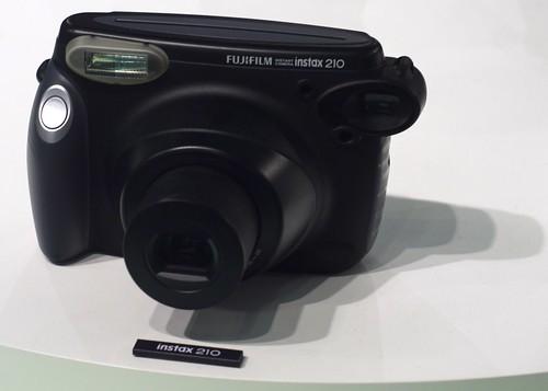 The Fujifilm Instax 210 Uses Instant Film Packs