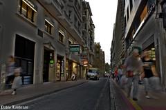 San Miguel Street (Pablo Lasheras Photography) Tags: street espaa miguel calle spain san ambulance zaragoza photoshot hdr ambulancia aragn