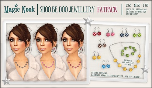 [MAGIC NOOK] Shoo Be Doo Jewellery