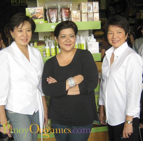 Jeannie Javelosa, Reena Francisco, Chit Juan