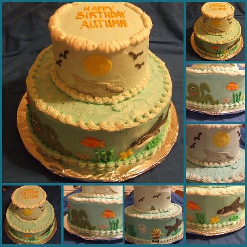 Autumn's cake