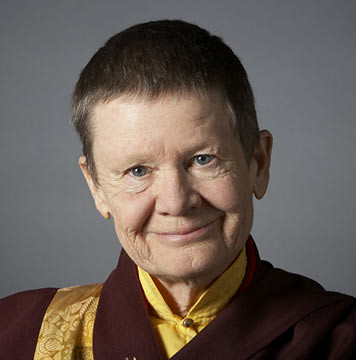 Ani Pema Chödrön by Robin Holland