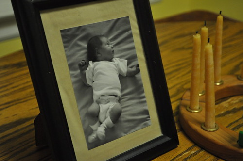 Lena's baby picture