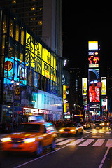 Times Square 2010 (Xisco Serrano) Tags: new york city nyc usa ny apple america canon square us big king cola manzana manhattan taxi united lion el amarillo leon rey ligth gran times yelow states coca nueva hdr nigth estados the eeuu unidos 450d
