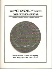 Conder Token Collector's Journal Fall 2010