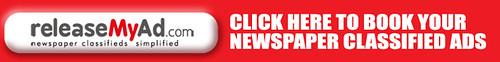 Book Your Newspaper Classified Ads - releaseMyAd