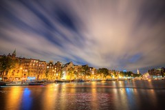 Amstel by Night (Marco.nl) Tags: longexposure reflection am