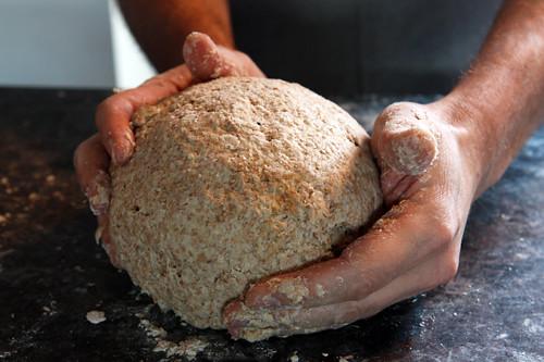 irish soda bread ball