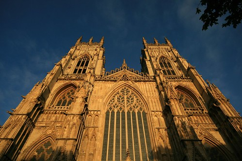 The Golden Hour at York Minster
