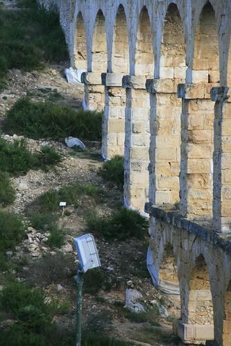 Pont del Diable, arcos sin andamios