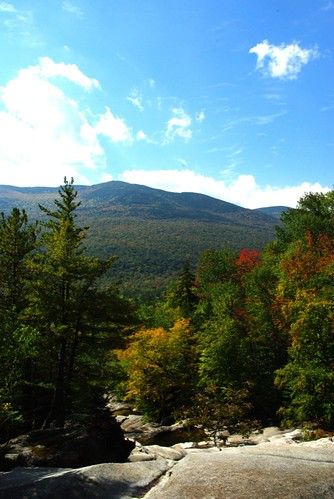View from Step Falls